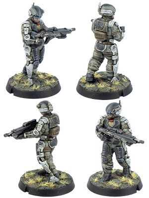 6x Epirian Secdef Infantry Product Image