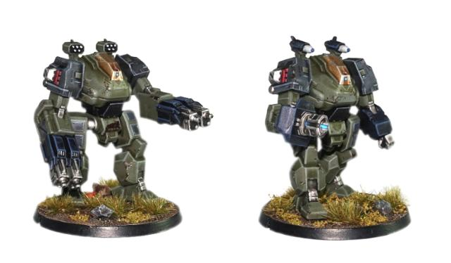 Epirian Hunter Warmech for Maelstrom's Edge - Multi-part plastic 28mm model